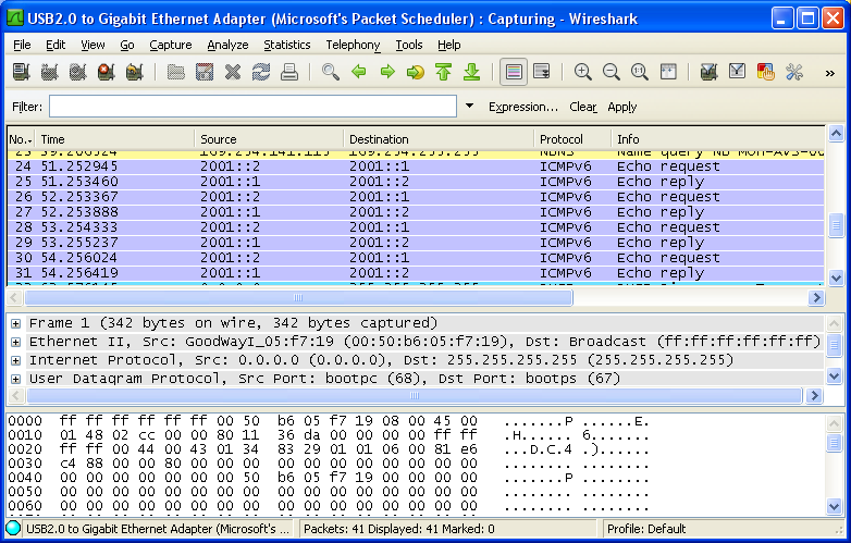 how to set wireshark to capture only http messages